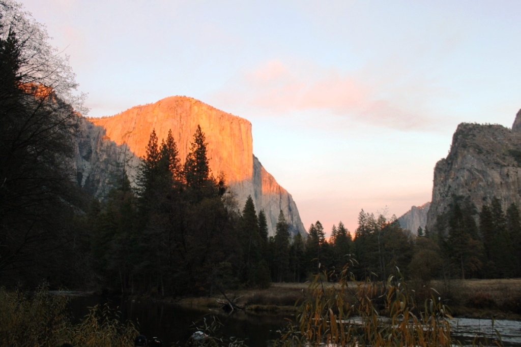 Yosemite Valley in the Sunset